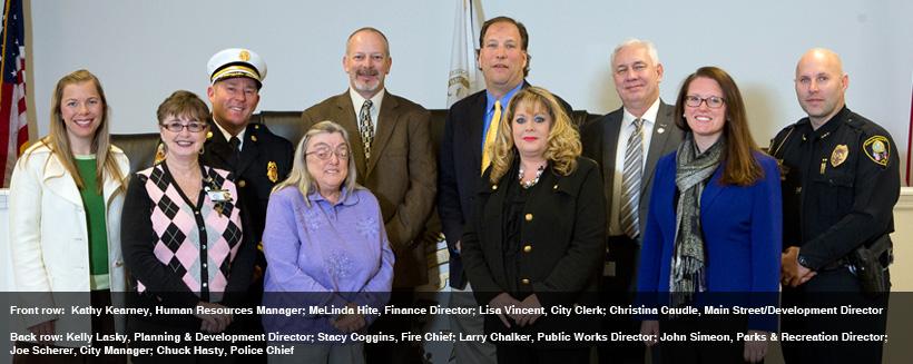 City of Roanoke Rapids Department Heads